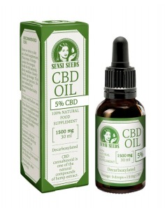 Sensi seeds Aceite de CBD - 5% - 30ml