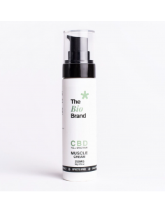 The Bio Brand Crema de CBD para dolores musculares 250mg CBD Efecto Frio