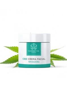 Cannactiva Crema Facial con CBD Hidratante (50ml)