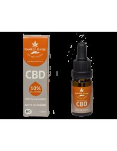 Iberikan Ganja Aceite CBD 10% con aceite de semilla de cañamo (10ml)