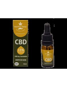 Iberikan Ganja Aceite CBD 15% con aceite de oliva (10ml)