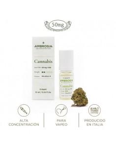 TERRE DI CANNABIS AMBROSIA CBD E-LIQUIDS CANNABIS 5% CBD