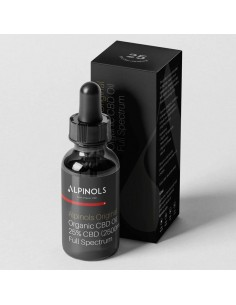 Alpinols Aceite CBD 25% Full Spectrum 10 ML