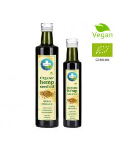 Annabis aceite de cáñamo ecológico bio con omega 3-6 500 ML