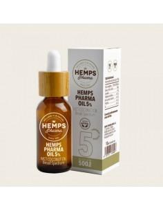 Hemps pharma OIL 5% CBD 10 ML