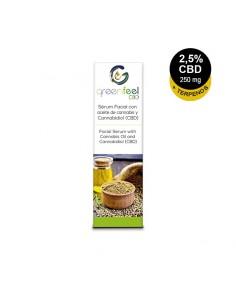 GreenFeel CBD Serum facial Bio CBD 2.5% + Terpenos 250mg 10ml