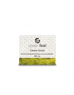 GreenFeel CBD Crema facial hidratante antioxidante CBD 225mg 15 ml