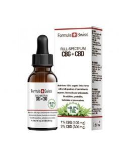 Formula Swiss Aceite de CBD RAW en aceite de cáñamo 5-20% (500-2.000 mg)