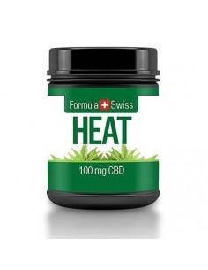 Formula Swiss Crema Caliente de CBD 100 mg, 30 ml