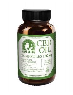 Sensi seeds Aceite de CBD - 10 mg - 20 cápsulas