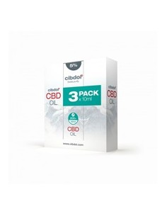 Cibdol Multipack de Aceite de CBD 5%