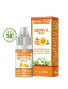 Formula Swiss CBD Aceite de Vape Naranja 3% (300 mg)