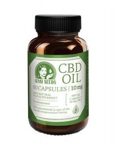 Sensi Seeds Aceite de CBD 10 mg - 60 cápsulas