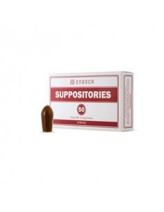 Endoca Supositorios de CBD (500 mg de CBD bruto)
