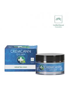 Annabis cremcann Q10 Crema hidratante y regeneradora facial natural para hombre