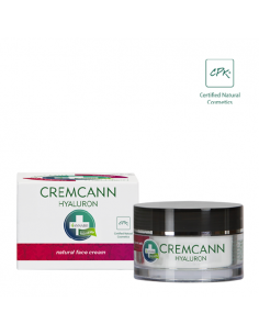 Annabis Cremcann Hyaluron facial natural hidratante y tensora piel madura