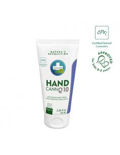 Annabis Handcann Q10 Crema de manos natural de cáñamo hidratante y regeneradora