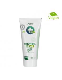 Annabis menthol Gel de cáñamo natural y vegano para alivio y masaje